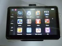 5 inch car GPS navigation built in 4GB DDR128M HD800*480 GPS navigator with Bluetooth FM AV IN free shipping