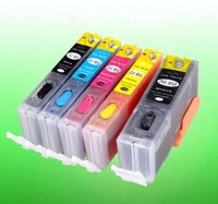 Free shipping!refillable empty cartridges 5PCS/SET PGI-850/CLI-851 for MG5480,MG6400,IP7280,MX728,MX928 printers without ink