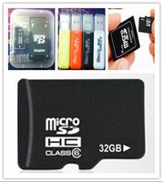 3pcs Hot 32GB Micro SD Micro SDHC TF Flash Memory Card 32G 32GB Adapter Card Reader free shipping