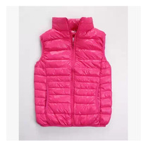 Super lightweight Down Jacket Vest,slim,warm,colorful,90%white Duck down