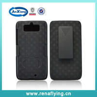 Wholesale general mobile holster combo belt clip discovery case in daily life for motorola xt1030, 20pcs/lot