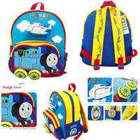 Cartoon Thomas train Small Boys Girls School Bag Canvas Rucksack Children Backpacks Kindergarten Kids Satchel Gifts ,1790