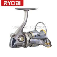 Ryobi Spinning Fishing Reel 9 Bearing Metal Body Ratio 4.9:1 Shallow Spool Excia MX 2000 Free Shipping