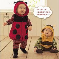 2014 new fashion autumn baby girl set baby boy set free shipping