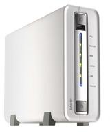 QNAP 1.6GHz 1bay RJ-45 USB3.0/eSATA RAID NAS Network Storage HDD Enclosure PK Buffalo/Orico NAS Support hibernation BT/PT