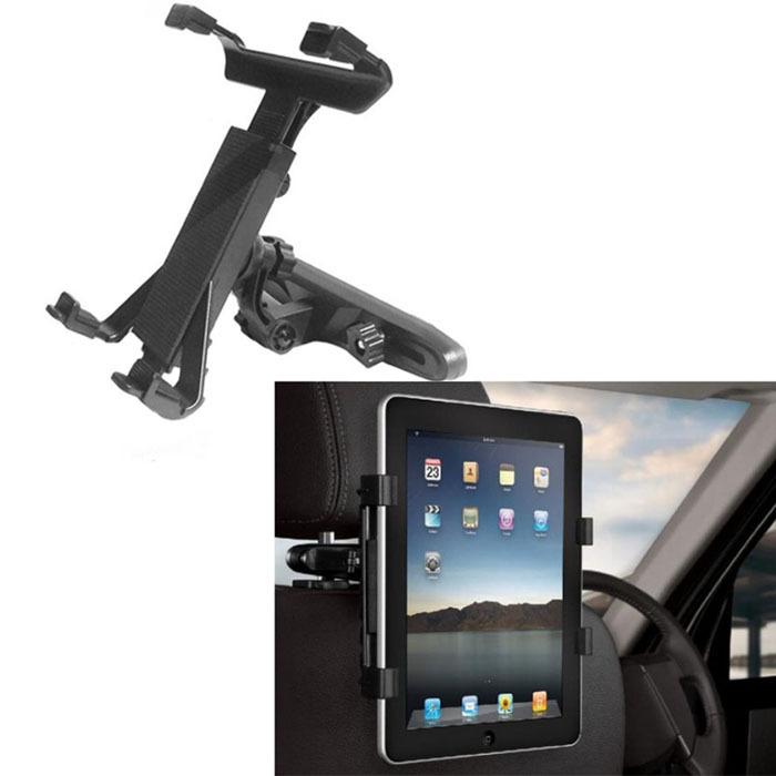 selljimshop Universal Car Back Seat Headrest Mount Holder For iPad 2/3/4/5 Tablet jimshopping(China (Mainland))