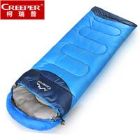 Envelope adult sleeping bag outdoor ultra-light sleeping bag cotton winter camping travel sleeping bag