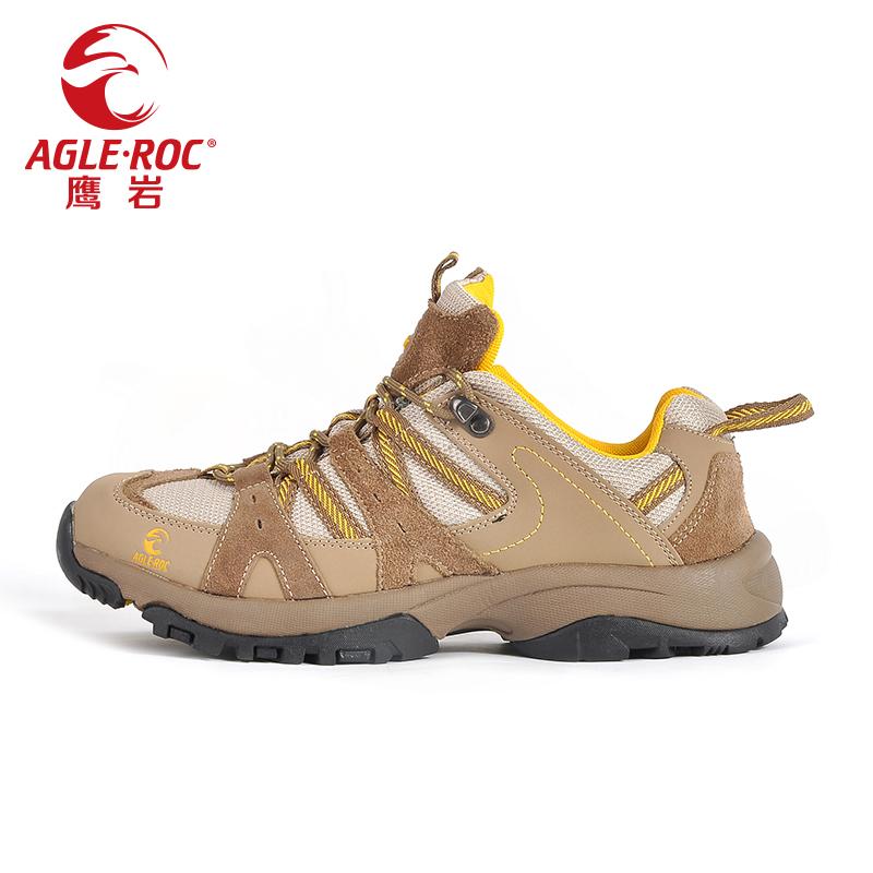 Homens antiderrapantes produtos ao ar livre AGLEROC resistente ao desgaste caminhadas sapatos respirável sapatos para 501 1301(China (Mainland))