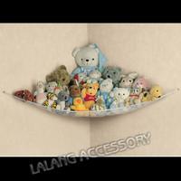 1pc On Sale Nylon Baby Toddler Children Large Toy Hammock Mesh Storage Net Children Bedroom Tidy Bag Free Shipping 671912