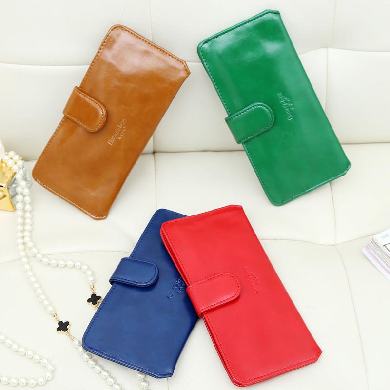 2015 new leather women wallets woman messenger bag women's design wallet change purse for women FREE shipping KARAN A048(China (Mainland))