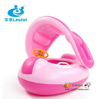 062772 Intex Children Swimming Ring Sunshade Baby Seat