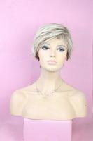 Hot Sale Wholesale Bob Wigs Style Short Wigs For Women,Fashion Cheap Synthetic Kanekalon Bob Wig,Blone Wig03126
