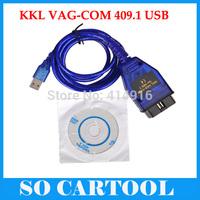 Free Shipping VAG 409 USB COM vag 409.1 usb kkl interface vag409 usb cable VAG 409 KKL USB Diagnostic Interface