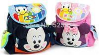 Cute Cartoon Mickey Minner Kids Backpack, school backpack, Children School Bags Kintergarden bolsa infantil mochila infantil