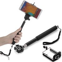 Extendable Telescopic Handheld Monopod Holder for Samsung Galaxy S5 S4 Note 3 2