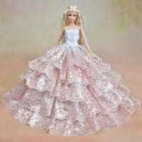 Handmade Dress For Boneca Barbie Doll