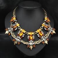 New 2014 Wholesale Fashion Jewelry Women Costume Collar Necklace Brand Vintage Pendant Statement Choker Necklace