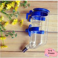 Hanging water dispenser bottle pet dog water dispenser 350ml pet bowls free shipping+gifts