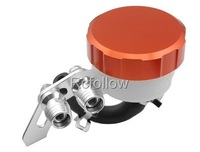 Universal Brake Fluid Orange Reservoir For KAWASAKI ZX6R 9R 10R 12R Z1000 ZZR