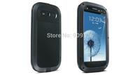 Original LOVE MEI Powerful Shockproof Dirtproof Waterproof Metal Case For Samsung Galaxy S3 SIII i9300 free shipping MOQ1PCS