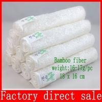 Free shipping 30 pcs/lot high efficient ANTI-GREASY color dish cloth,bamboo fiber washing dish cloth 20pcs/lot