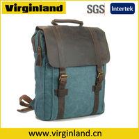 Badinaging eight canvas bag fashion vintage backpack travel bag large capacity laptop school bag 1820