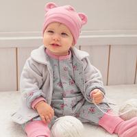 New 2014 Baby Winter Clothes Baby Girl Romper Fleece Jumpsuit Newborn Baby Girl Clothes One piece macacao de bebe