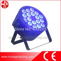 Indoor home party light 18x10w 4in1 quad led par