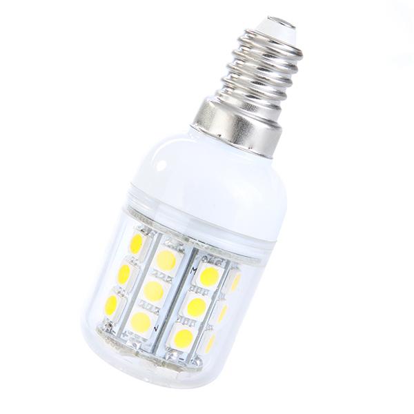 Cool White Light Corn Lamp5W E27 110V/ 220V 30 LED SMD 5050(China (Mainland))