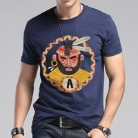 Fashion male short-sleeve T-shirt men's clothing plus size plus size 100% HARAJUKU cotton o-neck t shirt