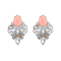 High Quality Waterdrop Shaped Dangling Crystal Stud Earrings For Women Gifts For Women ZC4P8C Free Shipping