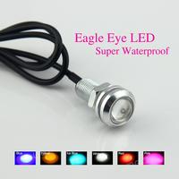 2pcs/lot DIY Car Parking Lights Eagle Eye Led Light 1.8cm 12V 9W Waterproof Eagle Eye LED Daytime Running Lights 6 Colors