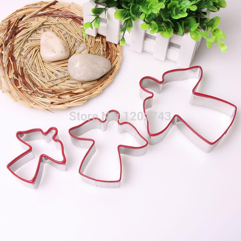 Cookie Cutter metal Biscuit cortador Silicone Bakeware Urso forma de molde Ferramentas de cozinha(China (Mainland))