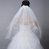 2014 The bride wedding dress veil style long veil yarn veil multi-layer 100cm-135cm 26#