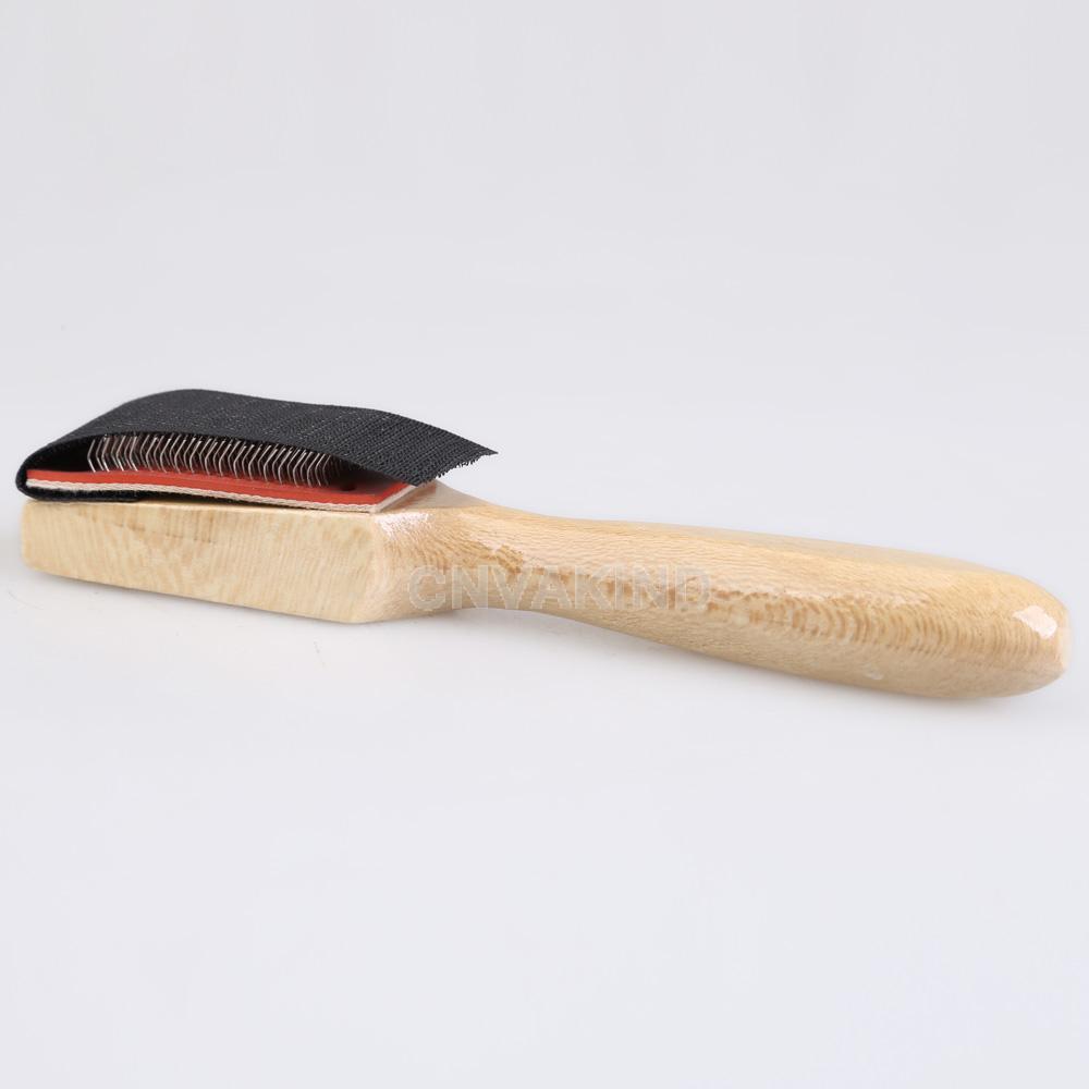 #Cu3 Men Women Wood Suede Sole Wire Shoe Brush for Dance Shoes(China (Mainland))