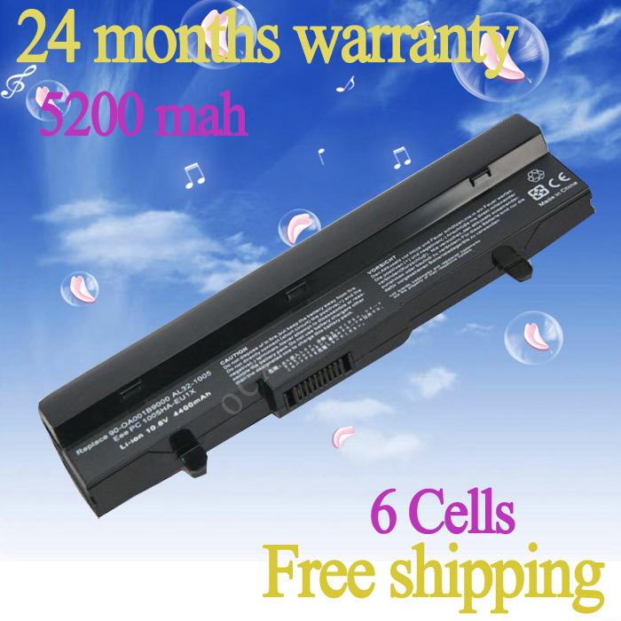 Аккумулятор для Asus Eee PC 1005 1005 H 1005 P 1101HA AL31-1005 R101 R105 черный аккумулятор asus eee pc s101 asx s101 4900 mah
