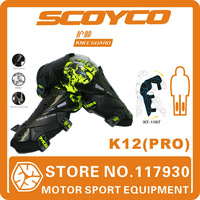 2014 Scoyco K12(PRO) Motorcycle Knee Protector High Quality Sports Scooter Motor-Racing Guard Safety Knee pad  Free Shipping