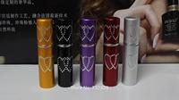 100PCS Wholesale 5ML Aluminum Perfume Bottles Travel Spray Bottle Perfume Atomizer Metal Mini Bottles