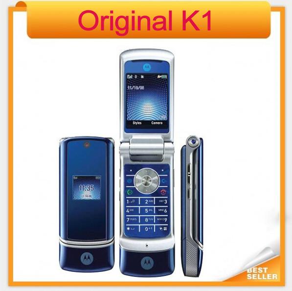 Original téléphone mobile bluetooth motorola k1 2mp caméra. déverrouillé. k1 motorola. moins cher téléphone portable
