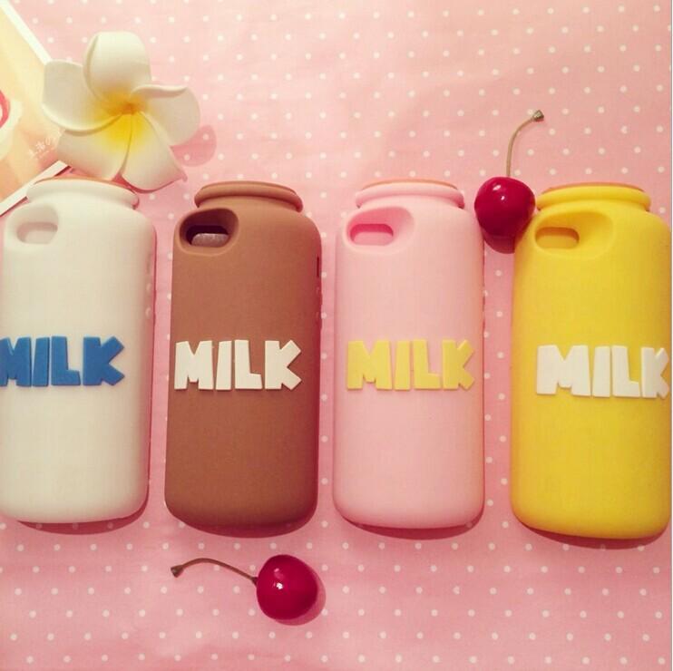Cartoon Milk Bottle Cartoon Milk Bottle Phone