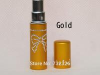 Factory Price Amazing Travel Perfume Atomizer Refillable Spray Empty Bottle 5ML Free Shipping