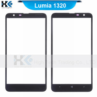 10pcs Outer Glass Lens Front LCD Touch Panel For Nokia Lumia 1320 Digitizer Free Shipoing