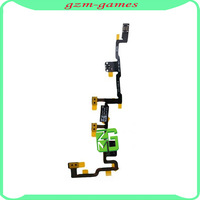 Free Shipping Power On Off Switch Mute Volume Button Flex Cable for Apple iPad 2 Parts 1pcs/lot
