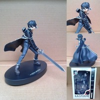 Super Cool 16cm PVC Anime Model Toy Kazuto Sword Domain Of God Toys Action Figures For Fans #2640
