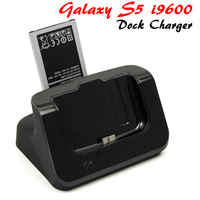 Dual Battery Charger Data Sync Charging Dock Holder For Samsung Galaxy S5 i9600 SM-G900 SM G900F G900H Bateria cargador