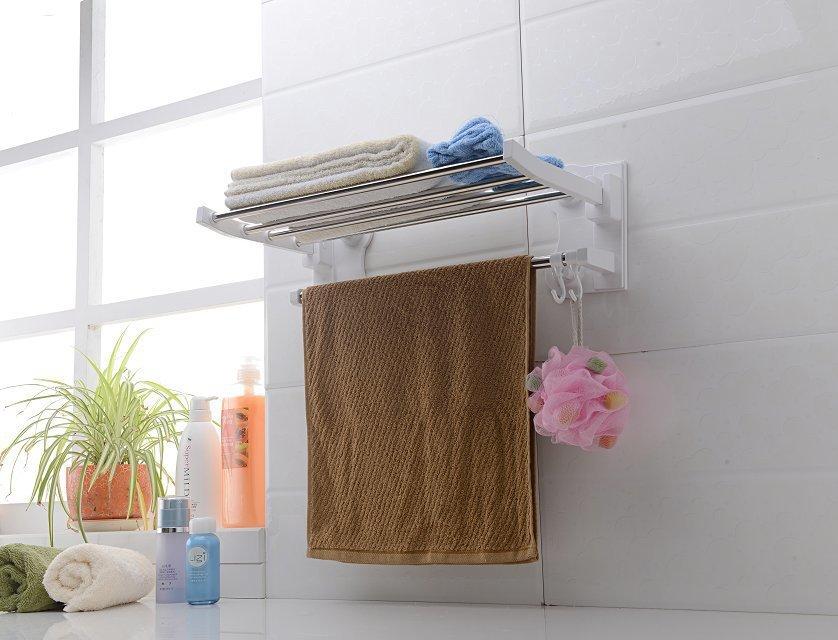 Mu Yu sucker activities towel rack bathroom towel rack towel rack shelving sucker towel rack(China (Mainland))