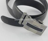 Fashion Formal Men Belt Automatic Buckle Male Belt For Men Waist Strap Design Brand Striped Buisness man Freeshipping