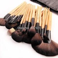 Black 32Pcs Kit Brush Lot Makeup Brushes Professional Cosmetic Make Up Set