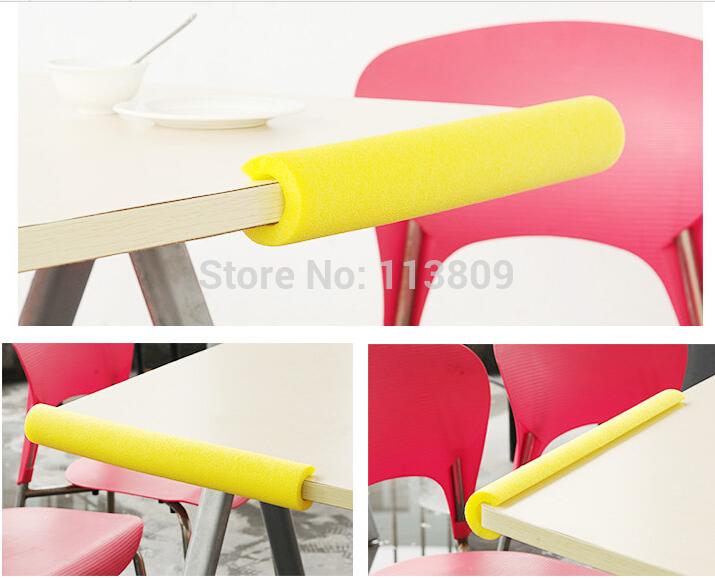 New Style 48.5CM X2 Baby bumper strip Kids' Safety Corner protector Table Edge Corner Cushion Strip HQS-0004704(China (Mainland))