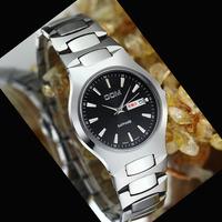 DOM sapphire crystal full tungsten steel men quartz watch calendar waterproof 200meters men luxury watch